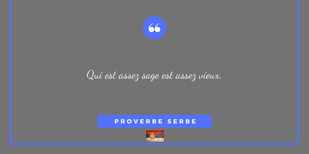 serbie proverbe 10